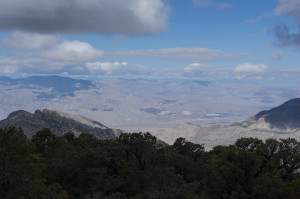 West to Ubehebe Crater