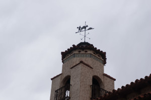 Distinctive weathervane