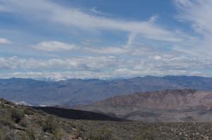 View west to Sierra