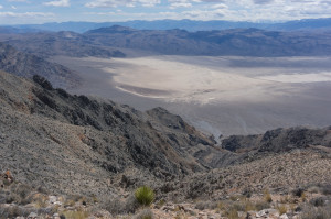 """Eureka Dunes and """"sporting"""" route"""