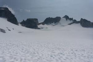 Endless glacial plain