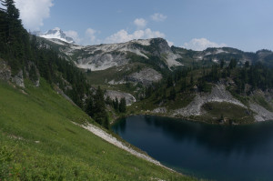 First view near Cub Lake