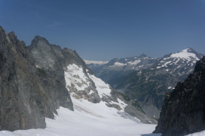 Cascade Pass from Cache Col