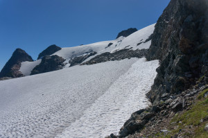 Glacier from High Pass