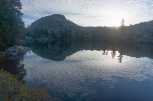 Lake near Seavey Pass