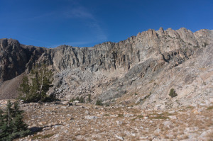 Piute (summit on right)
