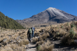 Starting toward Orizaba