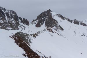 Cross-Gladstone ridge