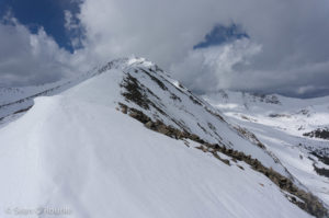 Upper Cronin ridge