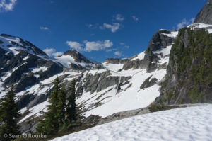 Approaching Colonial Glacier