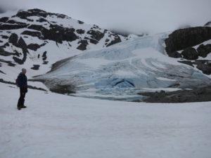 Toe of Wedgemount Glacier (Renee's photo)
