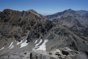 Ridge to Gould and Kearsarge Pass