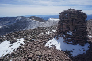 Phoenix summit cairn